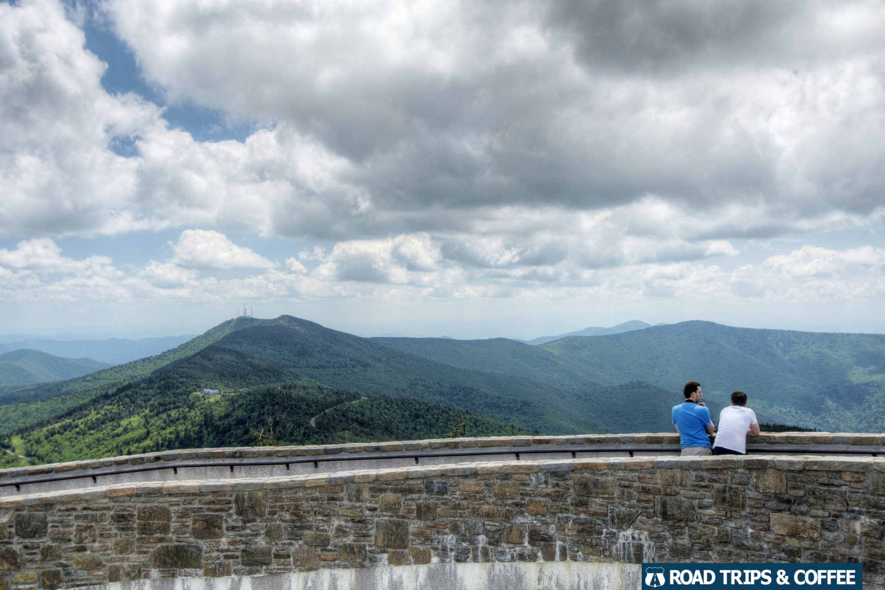 Mount Mitchell on the Blue Ridge Parkway in North Carolina