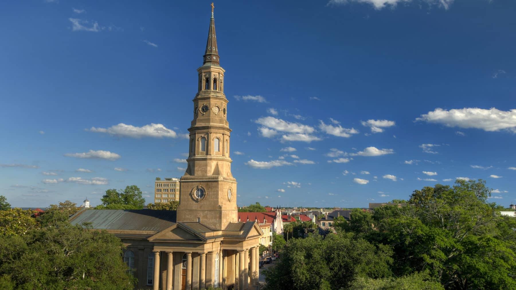 St. Phillips Episcopal Church in Charleston, SC