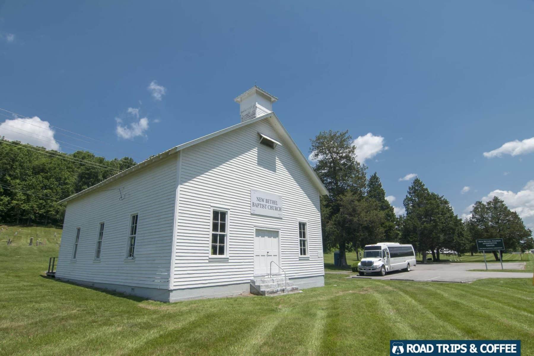 New Bethel Church in Oak Ridge, Tennessee