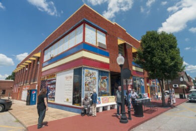 Visiting a Superman Museum at the Super Museum in Metropolis, Illinois
